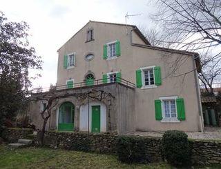 Gîte le Chalet à St-Gervais-sur-Mare (arrière) Maison cévenole des ATP