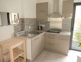 Espace cuisine réservé aux chambres d'hôtes. Gîtes de France
