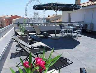 Hôtel Opal*** au Cap d'Agde - Terrasse sur le toit Delporte Pierre-OT Cap d'Agde Méditerranée