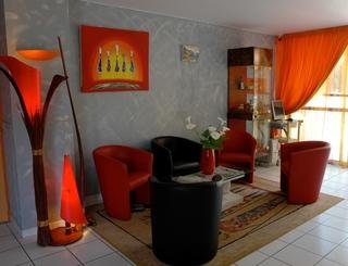 Hôtel Azur-Intérieur petit salon Hôtel Azur