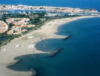 Hôtel Azur-La plage Richelieu au Cap d'Agde Hôtel Azur-