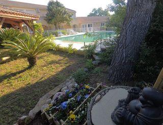 Jardin de l'hôtel Clara Felden