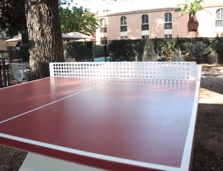 HOTELCLOSDELAUBEROUGE_Ping-pong AUBE ROUGE
