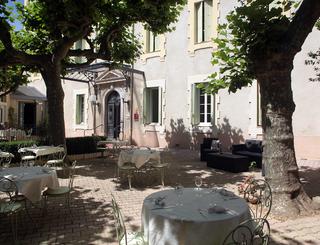 Table terrasse Hôtel des thermes - table basse terrasse