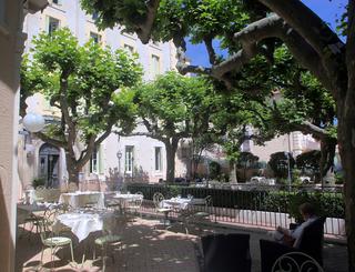 Terrasse haute Hôtel des thermes - terrasse haute