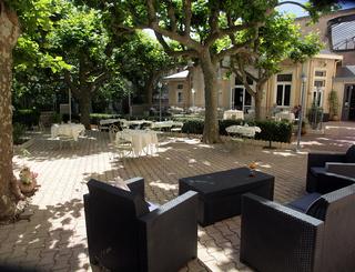 Salon exte¦ürieur Hôtel des thermes - salon exterieur