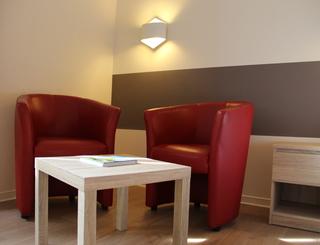 petit salon Hôtel des thermes - petit salon