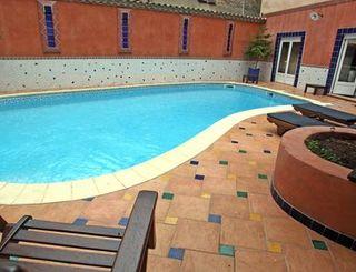 logis herault - hotel de la paix - piscine logis herault - bruno garcia