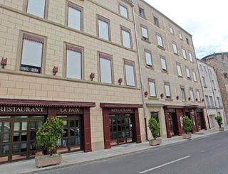 logis herault - hotel de la paix - facade logis herault - bruno garcia