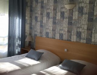 Les Rocailles Chambre1 Montagnac Hôtel Les Rocailles