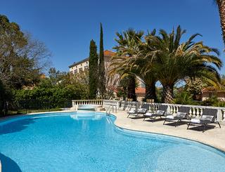 Hôtel Saint Alban*** à Nézignan l'Evêque - La piscine 2019-David Grimbert - OT Cap d'Agde Méditerranée