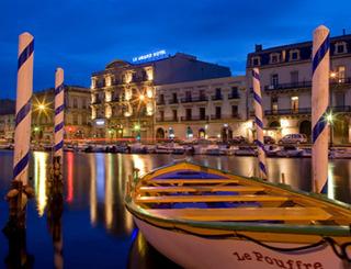Le Grand Hôtel - Sète - Façade ©Olivier Maynard