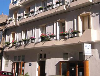 Hôtel Le National - Sète - Façade Eric Barre