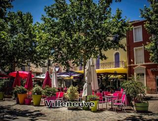 Place Michel Solans à Villeneuve-Lès-Béziers CDT34