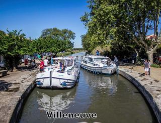 l écluse du canal du Midi à Villeneuve-Lès-Béziers CDT34