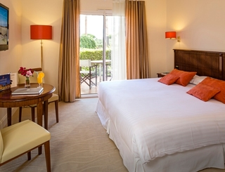 Palmyra Golf Hôtel-Chambre confort vue jardin Palmyra Golf Hôtel-Office de Tourisme Cap d'Agde Méditerranée