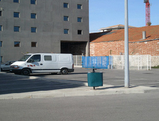 Hôtel Ibis Budget - Sète - Parking Hôtel Ibis Budget Sète