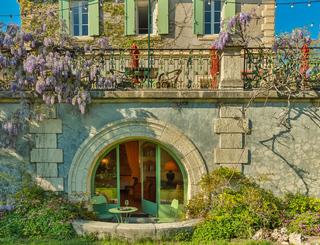 03-Chambre-du-Jardin Auberge du Cèdre