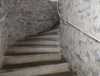 mas de baumes escalier logis herault - bruno garcia