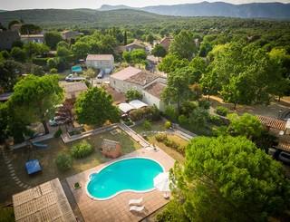 Hostellerie Le vieux chêne-Causse de la Selle_19 Sud de France Développement