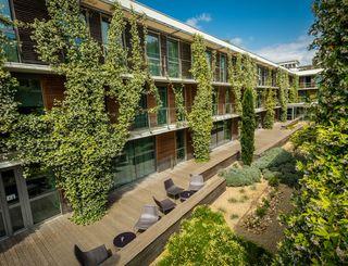 Hotel Courtyard Marriott-Montpellier_5 2017 - Hervé Leclair_Asphéries - Sud de France Développement