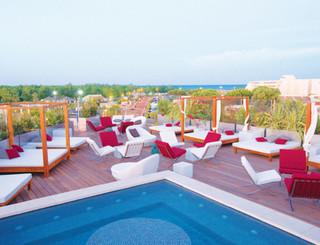 Oz'inn Hôtel-Terrasse et piscine sur le toit Oz'inn Hôtel-Office de Tourisme Cap d'Agde Méditerranée