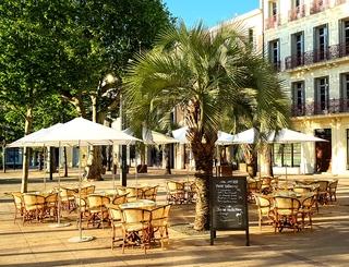 Terrasse Café Hôtel XIX
