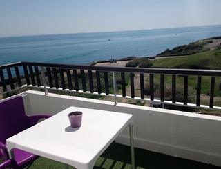 Hôtel Le Bellevue ** au Cap d'Agde - Vue depuis une chambre 2019-Hôtel Le Bellevue- Office de Tourisme Cap d'Agde Méditerranée