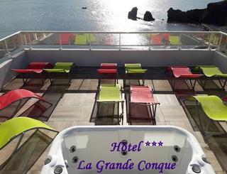 Hôtel la Grande Conque***- Le Cap d'Agde - Solarium 2019-Hôtel La Grande Conque-OT Cap d'Agde Méditerranée