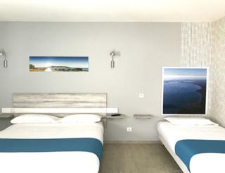 Hôtel Grand Cap** à Agde - Chambre familiale Thau Hôtel Grand Cap