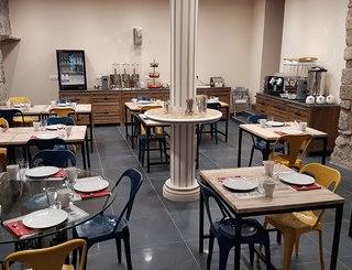 Yseria Hôtel à Agde - Salle de petit déjeuner Yseria Photo