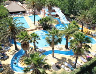 Camping l 39 emeraude portiragnes for Piscine emeraude