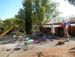 accueil détente jeux camping les Terrasses