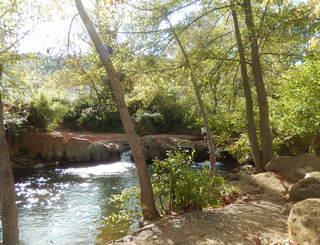 Rivière camping les Terrasses