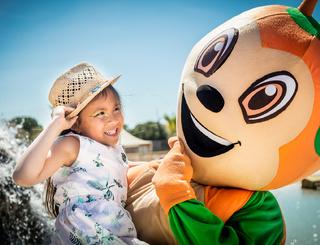 Sunny, la mascotte Sunêlia Sunêlia Domaine de la Dragonnière