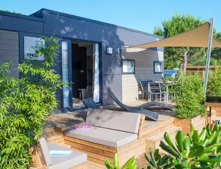 Mobil-home Luxe avec prestation hôtelière incluse Sunêlia Domaine de la Dragonnière