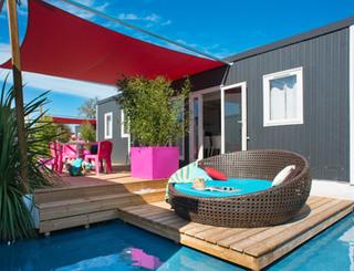 cottage premium en bord de lagon Club Farret