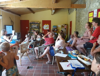 1-camping-domaine-le-vernis-animation le page mireille