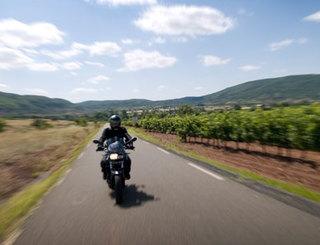 Grand Site du Salagou à Moto-Didier Almon Didier Almon