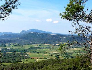 Point de vue sur la crête de Tout Auras-Gisele Leboucher CDRP34 - Gisèle Leboucher