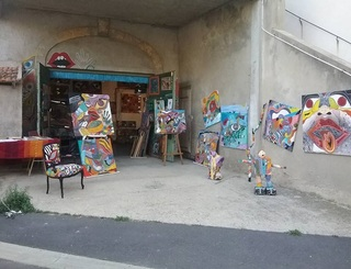 Atelier et galerie d'art Alfred Expositions Balaruc Les Bains Atelier et galerie d'art Alfred