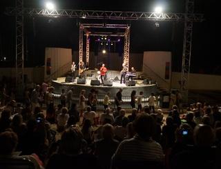 Theatre de la mer-concertW Ville de Valras-Plage