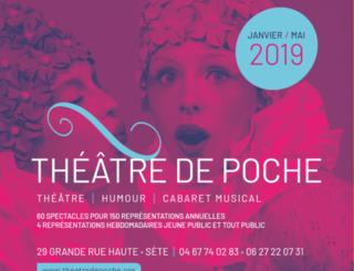 Theatre-de-poche-2019 Théâtre de poche Sète