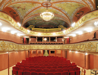 Théâtre historique de Pézenas Philippe Lagarde - OT CAM