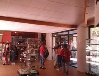 Fileuse de verre-Espace muséographique2©2018-Palais de la Fileuse de Verre-OTMSPC ©2018-Palais de la Fileuse de Verre