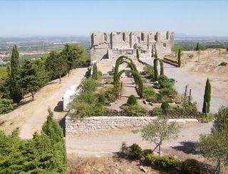 Abbaye Saint Felix Montceau Gigean Vue Panoramique Abbaye Saint Felix Montceau Gigean