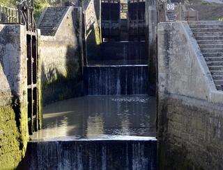 9 ecluses de Fonseranes-escalier d'eau- @AFirmin Amélie Firmin