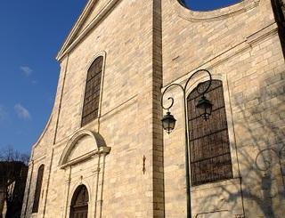 Façade Cathédrale Saint Pons