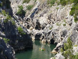 Gorges de l'Hérault au pont du Diable à Aniane Antonnella Kadouche - OTI SGVH
