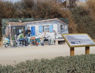 Promenade Georges Brassens Lolo Spinosi Balaruc les Bains